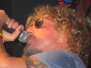 Sammy Hagar Cabo photo by Patricia Walker 2012