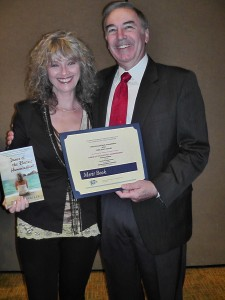 Author Patricia Walker with Ward Lucas