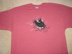 Dance of the Electric Hummingbird T-shirt front